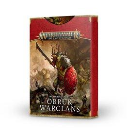 Warscroll Cards: Orruk Warclans (2021)