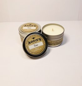 Aggies Timber small tin Candle