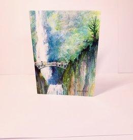 Annette Ripplinger Multnomha Falls in early Spring