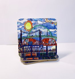Christopher Bibby 3 bridges coaster