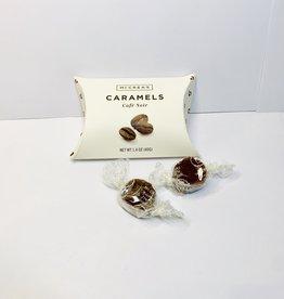 McCreas Candies Cafe Noir Caramels Pillow box
