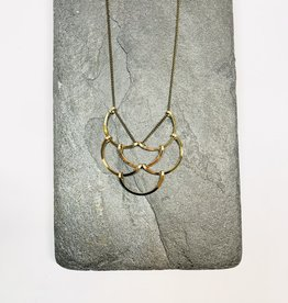 L.Greenwalt Jewelry Small scales necklace