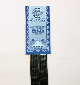 Fred Soll's Incense Albequerque Mountain Cedar 10 Stick