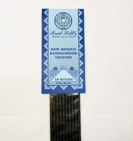 Fred Soll's Incense New Mexico Sandlewood 10 Stick