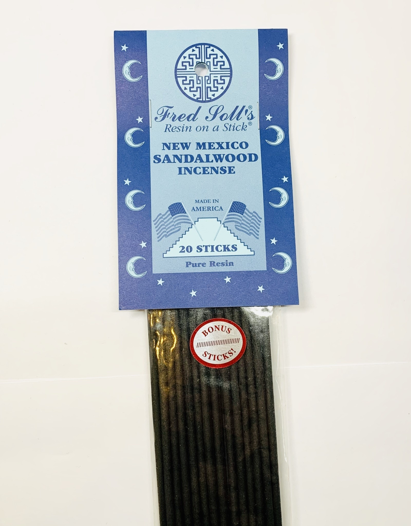 Fred Soll's Incense New Mexico Sandlewood 20 Stick