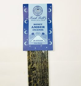 Fred Soll's Incense Honey Amber 20 Stick