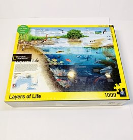 New York Puzzle Co. Layers of Life Puzzle