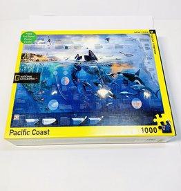 New York Puzzle Co. Pacific Coast Puzzle