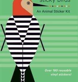 Pomegranate Sticky Birds Animal Stickers