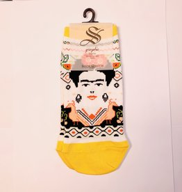 Socksmith W-Frida Summer yellow