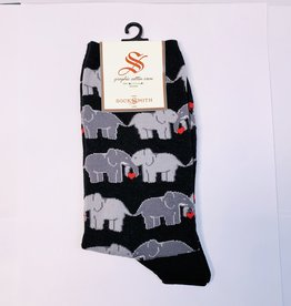 Socksmith W-Elephant Love