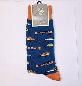 Socksmith M - Just Fishin