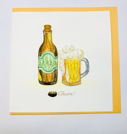 Quilling Birthday Beer