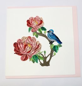 Quilling Peony