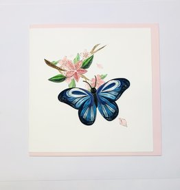 Quilling Blue Butterfly