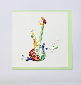 Quilling Electric Guitar