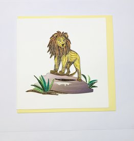 Quilling Lion