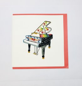 Quilling Grand Piano