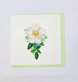 Quilling Cherokee Rose
