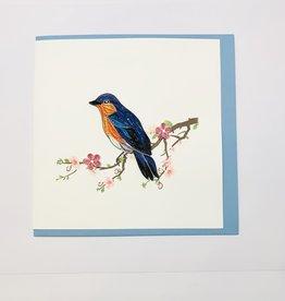 Quilling Bluebird