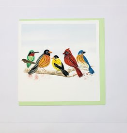 Quilling Song Birds