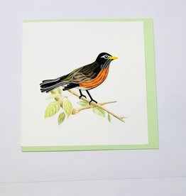 Quilling Robin