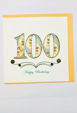 Quilling 100th Bday
