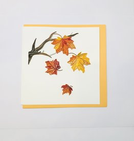 Quilling Fall Leaves