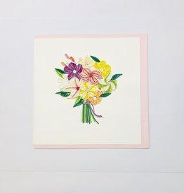 Quilling Floral Bouquet