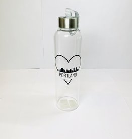Mad Style Portland Glass Watter Bottles