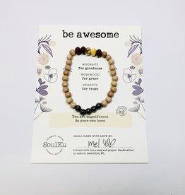 Soulku Be Awesome Bracelet