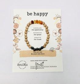 Soulku Be Happy Bracelet