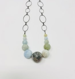 HB Jewelry HB XLG Necklace - Agate