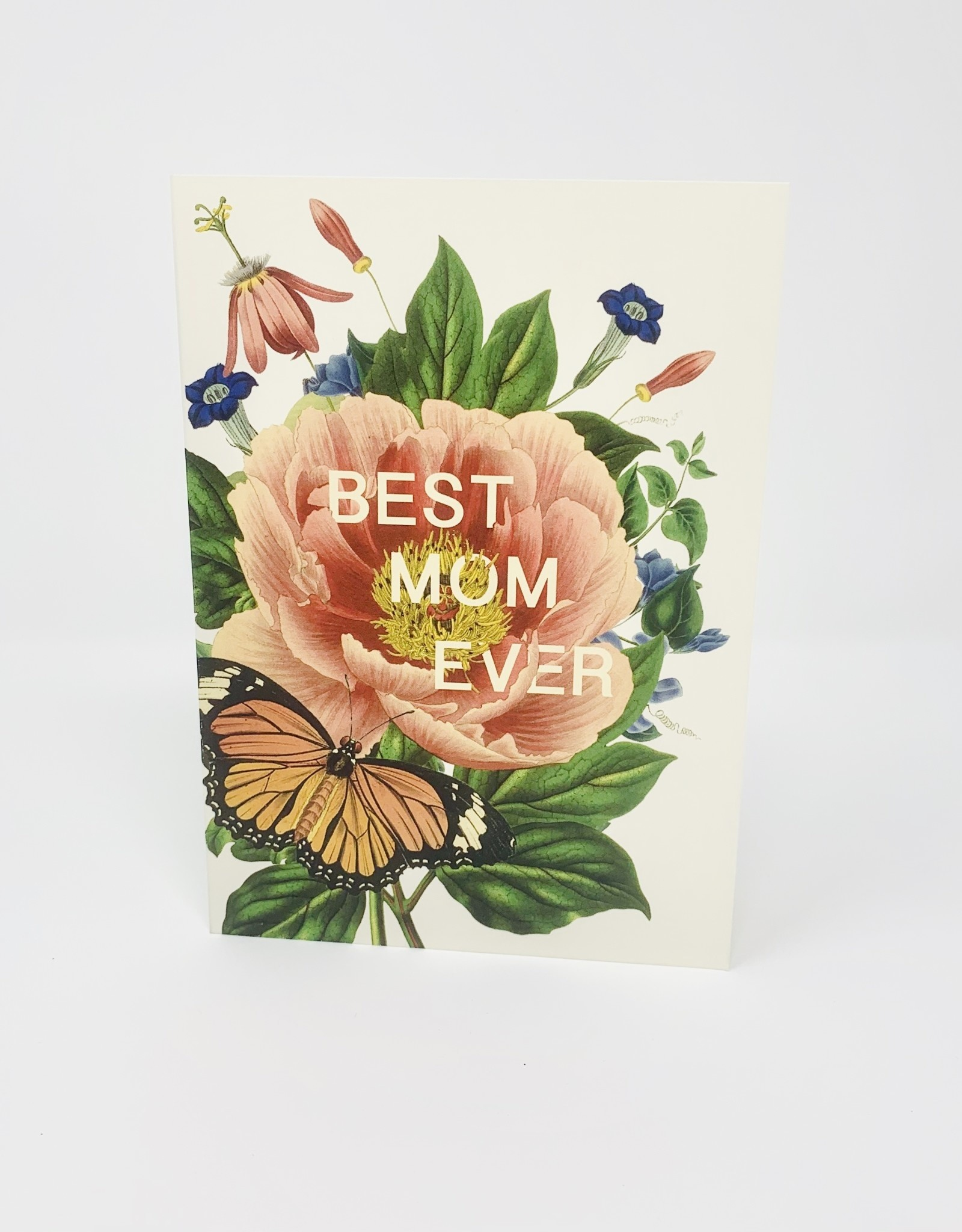 P. Flynn Design Best Mom with Glitter