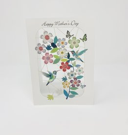 Shadywood Designs HUmmingbirds and Flowers Cut out