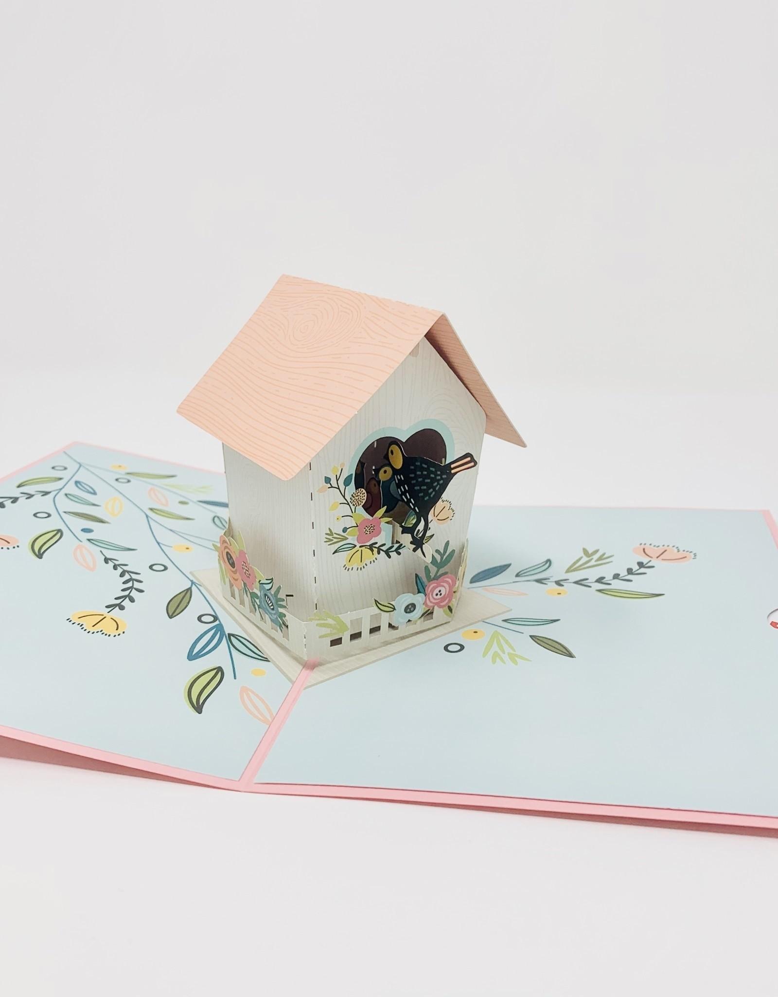 Lovepop Moms Day Birdhouse