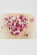 Collage Hydrangea Heart