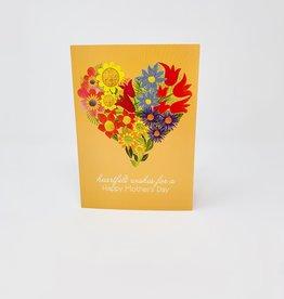 Design Design Collage Floral Heart