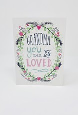 Design Design You are so Loved - grandmother