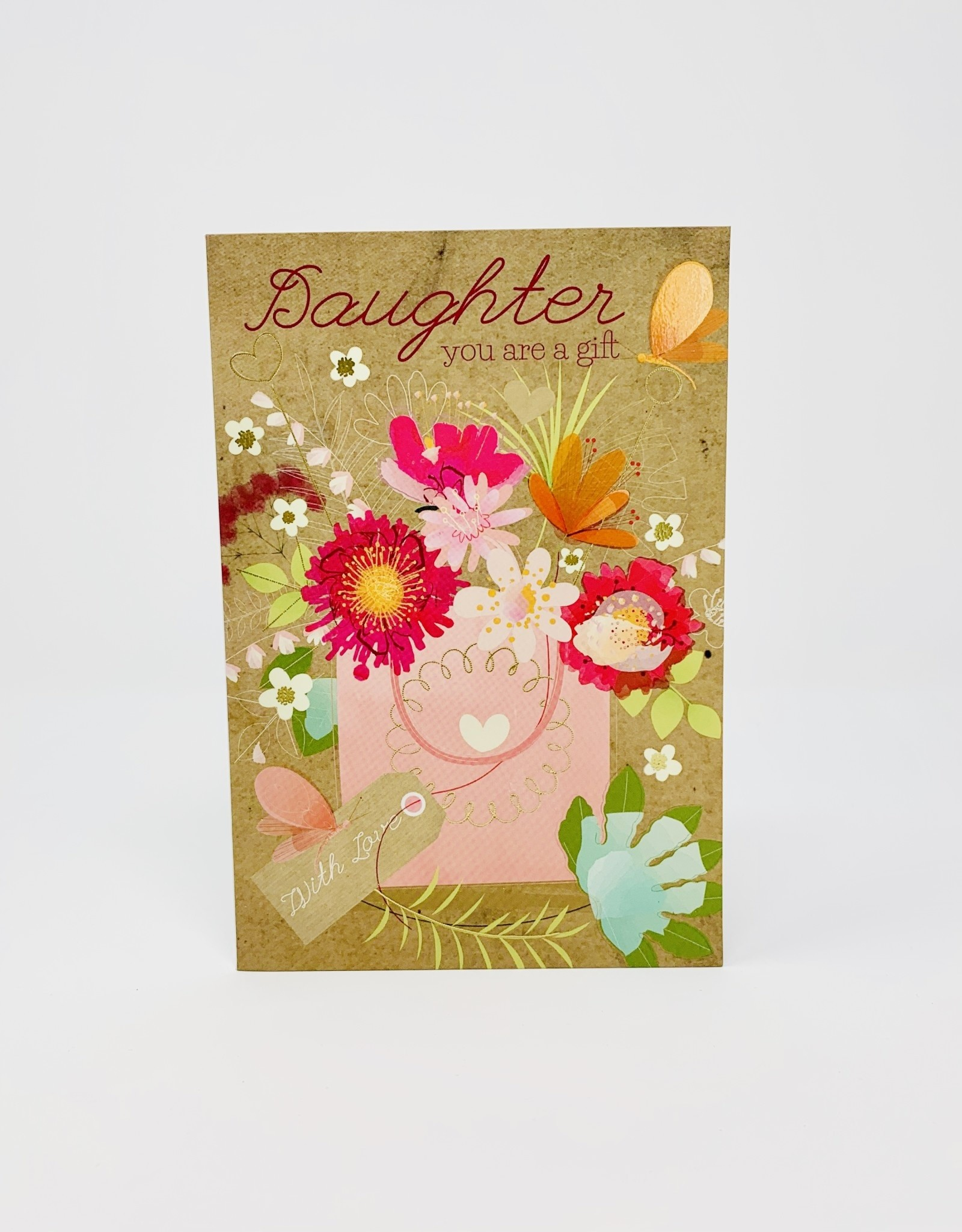 Pictura Flowers with Love Gift Bag - Daughter