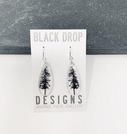 Black Drop Designs Drip Forest Earrings