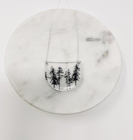Black Drop Designs Drop Forest Necklace