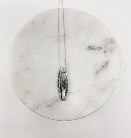 Black Drop Designs Oval Tree Necklace