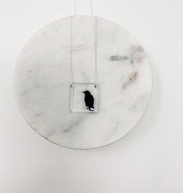 Black Drop Designs Square Crow Necklace