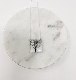 Black Drop Designs Square Tree Necklace