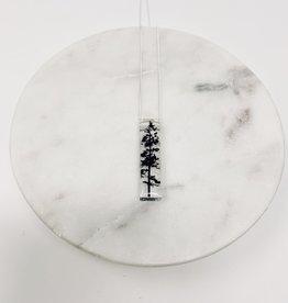 Black Drop Designs Skinny Forest Necklace