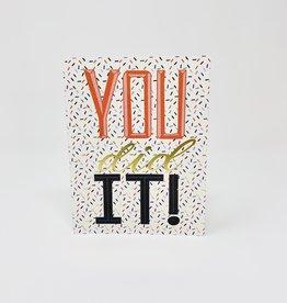Gina B Designs You Did It