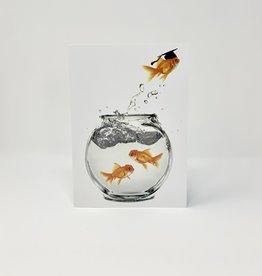 Design Design Goldfish out of Bowl