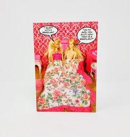 NobleWorks Barbies in Bed