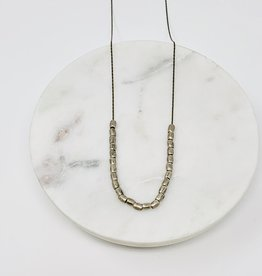 HB Jewelry HB LG Necklace - African Silver Beads